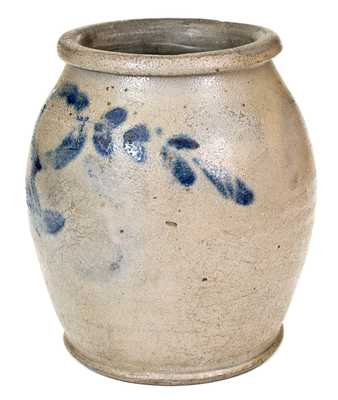 Extremely Rare and Important HUGH SMITH & CO., Alexandria, D.C., Stoneware Jar Marked