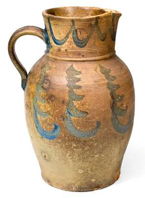 Stoneware Pitcher Excavated in Morgantown, WV