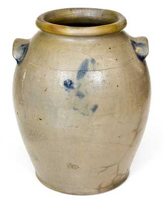 H. SMITH & CO., Alexandria, VA, Stoneware Jar w/ Incised