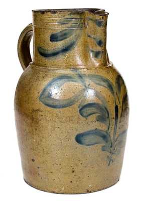Attributed Adam Keister, Strasburg, VA Stoneware Pitcher