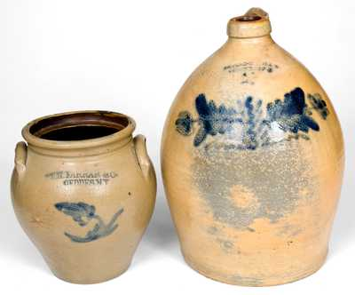 Lot of Two: Stoneware by Farrar (Geddes, NY) and Chace (Somerset, MA)