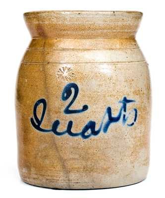 Cortland, NY Stoneware Jar Inscribed