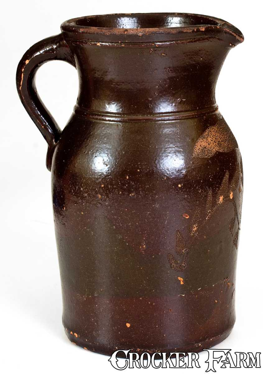 Albany slip pitcher