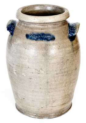Extremely Rare H. R. MARSHALL, Baltimore, MD, circa 1822 Stoneware Jar