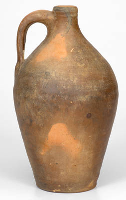 Quart-Sized Stoneware Jug, attributed to Edward Webster, Fayetteville, NC, circa 1820