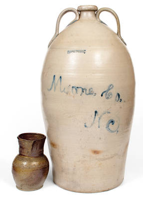 Monumental J. D. & T. W. CRAVEN Stoneware Water Cooler Inscribed