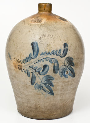 D. P. SHENFELDER / READING, PA 4 Gallon Stoneware Jug