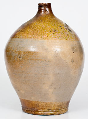 2 Gal. BOSTON Stoneware Jug with Double Iron-Oxide Dip