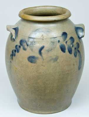 H. SMITH & CO. (Alexandria, VA) Stoneware Jar