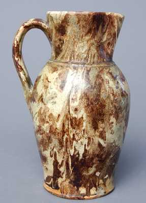 Anthony Baecher, Winchester, VA Redware Pitcher