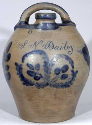 Stoneware Presentation Harvest Jug, probably Beaver, PA