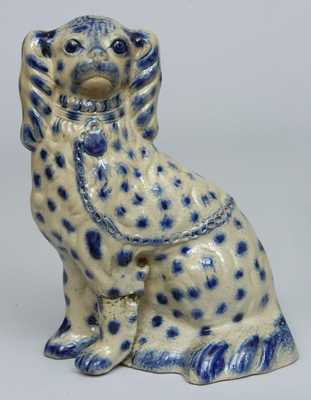 New York Stoneware Spaniel Bank