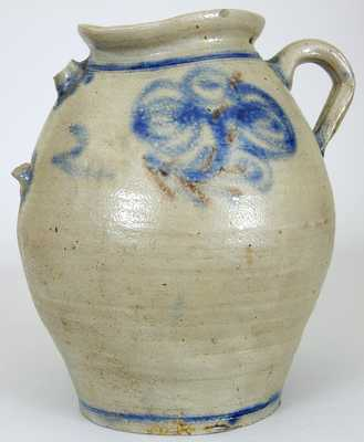 Early NJ Stoneware Jar, 18th century, Kemple, Ringoes, NJ