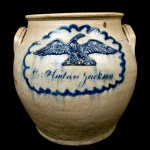 The Edmands Pottery's fine contribution to President Jackson's visit, to be sold in our April 10, 2010 auction