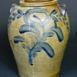 Stoneware jar made by John Walker in Washington, D.C.