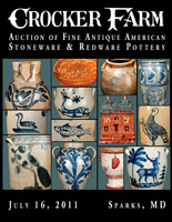 July 16, 2011 Stoneware & Redware Auction