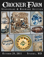 October 29, 2011 Stoneware & Redware Auction