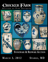 March 3, 2012 Stoneware & Redware Auction