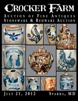 July 21, 2012 Stoneware & Redware Auction