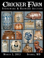 March 2, 2013 Stoneware & Redware Auction