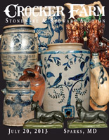 July 20, 2013 Stoneware & Redware Auction