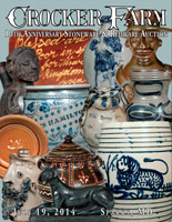 July 19, 2014 Stoneware & Redware Auction