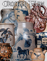 October 25, 2014 Stoneware & Redware Auction