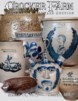 March 14, 2015 Stoneware & Redware Auction