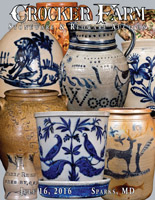 July 16, 2016 Stoneware & Redware Auction