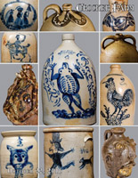 October 22, 2016 Stoneware & Redware Auction