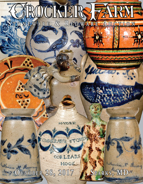 October 28, 2017 Stoneware & Redware Auction