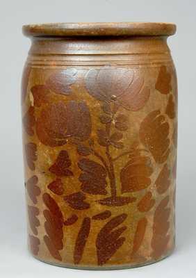 G.N. Fulton Stoneware Jar.