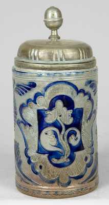 Westerwald Stoneware Mug.