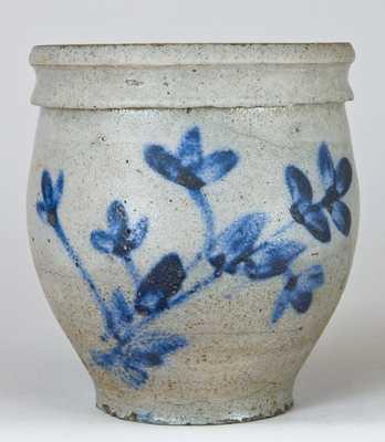 Heatwole or Suter Stoneware Jar, Rockingham Co., VA.