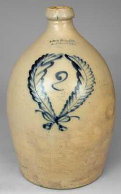 JOHN BURGER / ROCHESTER Stoneware Jug