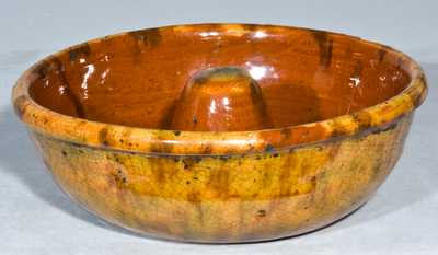 Glazed Redware Mold.
