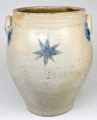Large Stoneware Jar with Incised Decoration