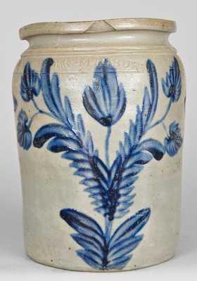 Alexandria, Virginia Stoneware Jar, B.C. MILBURN / ALEXA