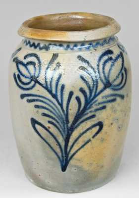 Alexandria Stoneware Jar, Stamped
