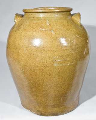 Edgefield, SC Stoneware Jar attributed to Dave the Slave, Incised