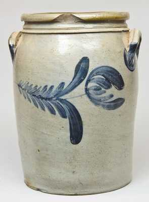 Attributed G. & A Black, Somerfield, PA Stoneware Crock
