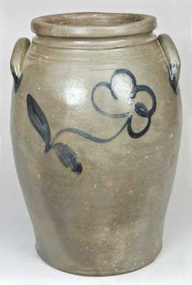 Richmond, Virginia, Area Stoneware Crock, attrib. Stephen Sweeney