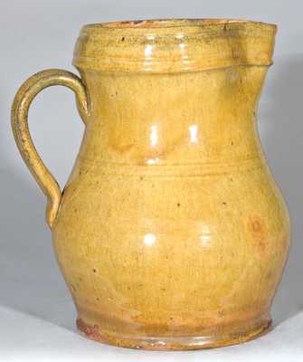 New England Redware Pitcher