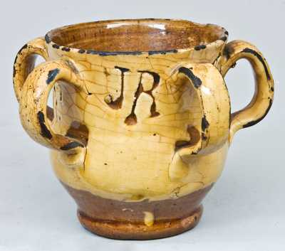 Redware Loving Cup
