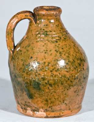 Small New England Redware Jug