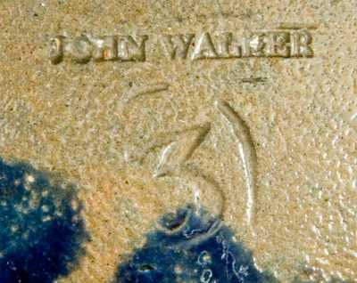 JOHN WALKER, Washington, DC Stoneware Three-Gallon Jar