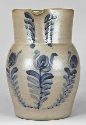 Half-Gallon Stoneware Pitcher, attributed to Johnstown, PA