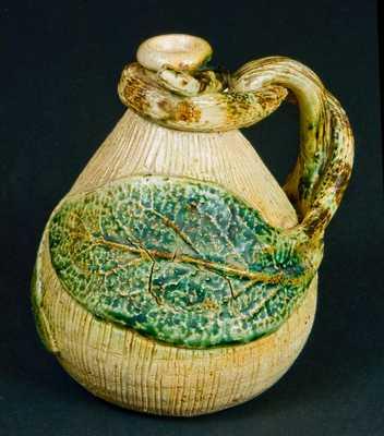 Stoneware Snake Jug, probably Anna Pottery or Texarkana Pottery