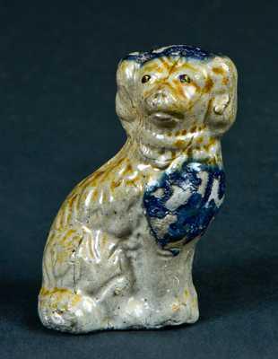 Fort Dodge, Iowa, Stoneware Miniature Spaniel Dog