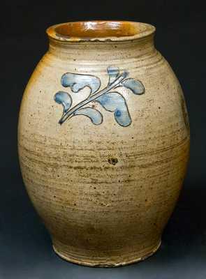 Incised Stoneware Jar, probably Manhattan, NY